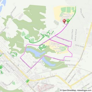 Ghostly Gallop 5K course